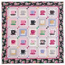 Teacup: FREE Quilt Block Pattern - The Quilting Company & Tea Time at Nana's: Quick Fuse and Piece Teacup Quilt Pattern at  McCallsQuilting.com Adamdwight.com