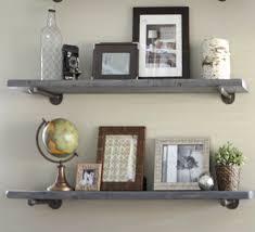Full Size of Shelves:marvelous Metal Floating Shelves Home Storage Diy At Q  Cat Cream ...
