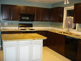 Concept Brown Painted Kitchen Cabinets Ideas Neurostis B To Impressive