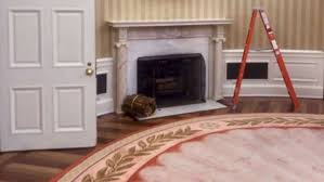 oval office fireplace. Trump Staffer Tweets Photo Of White House Renovations Kicking Off: \u0027West Wing Is Clearing Out Now\u0027 - ABC News Oval Office Fireplace