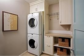Washer Dryer Cabinet stacked washer dryer storage built in with custom wooden cabinet 1469 by uwakikaiketsu.us