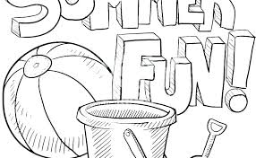 summer activities coloring pages printable summer coloring pages summer activities coloring pages summer coloring pages unique