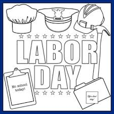 Small Picture Printable Labor Day Coloring Page and Song For Kids Heres