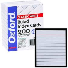 What Size Is A Note Card Hashtag Bg