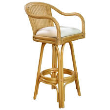 round bar stool cushions. Traditional Rattan Wicker Bar Stool With White Square Cushion Round Cushions