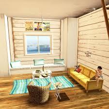 beach cottage furniture coastal. Living Coastal Room Furniture Stunning Beach Cottage Spotted From The Crow For