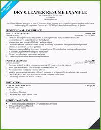 Aircraft Cleaner Resume Inspirational Gallery Cleaner Resume