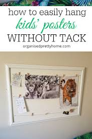 How To Easily Hang Kids' Posters Without Blu-Tack