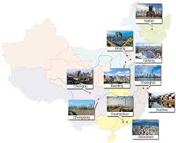 most populous cities in china