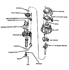 lincoln truck mark lt wd l fi sohc cyl repair guides 1 exploded view of a common hei distributor assembly 1981 and later models will have no vacuum advance unit