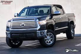 Toyota Tundra Fuel Boost D533 Wheels PVD Chrome