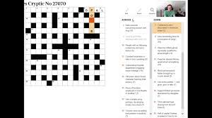 By Design Crossword Clue How To Read A Cryptic Crossword Clue Beginner Video