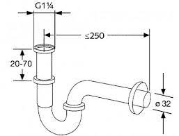 bathroom sink drain pipe size guide on