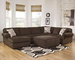 Room Solutions by Ashley Café Chenille 3 Piece Sectional from