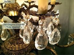 rewiring an old chandelier old chandeliers chandeliers rewire old crystal chandelier using old chandelier crystals after rewiring an old chandelier