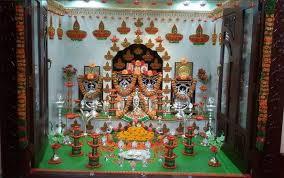 pooja room decoration ideas for varalakshmi vratham