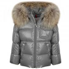 Moncler Baby Grey  K2  Coat