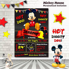 Mickey Mouse Clubhouse 2nd Birthday Invitations Mickey Mouse Clubhouse 2nd Birthday Invitations First
