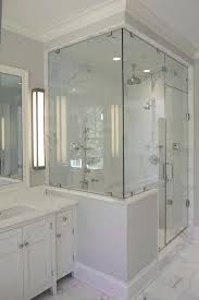 half wall shower glass shower glass panel half wall best half wall shower ideas on shower with glass shower wall panels s