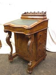 victorian office furniture. Antique Victorian Walnut Davenport After Restoration Office Furniture