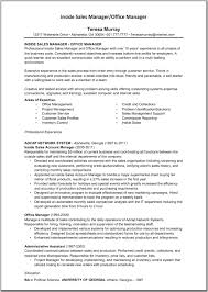 Telesales Manager Resume Example Sample Remarkable For Sales In