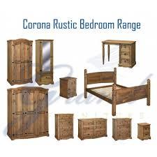 rustic bedroom furniture sets. Corona Rustic Dark Wooden Bedroom Furniture Sets N