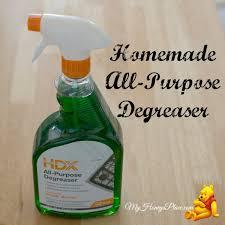 Homemade All-Purpose Degreaser