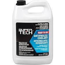 Rv Antifreeze Dilution Chart Super Tech 50 50 Antifreeze Coolant Pre Mix
