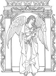 Small Picture Stunning Angel Coloring Pages For Adults Pictures Coloring Page
