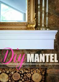 diy mantel easy diy home improvement projects cool home improvement idea