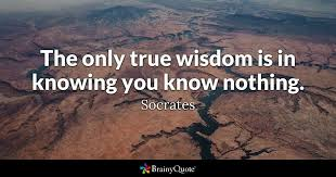 Quotes About Wisdom Cool Socrates Quotes BrainyQuote