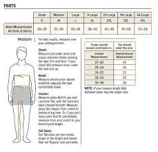Carhartt Size Chart Women S Mens Carhartt Clothing Size Chart Goods Store Online