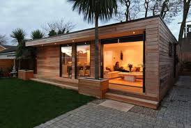 Initstudios39 prefab garden office spaces Unowinc Image Result For Prefab Rooms Gerdanco Is Great Content The Garden Before Work Started Building Appears To Float Over Water