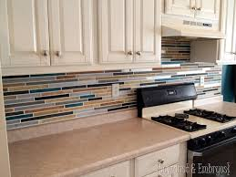 Paint Backsplash Beauteous How To Paint A Backsplash To Look Like Tile Reality Daydream