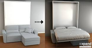 couch bed combo. Brilliant Couch Minima Sofa Bed Smart Furniture Murphy Couch Combo Sectional  Wall  Beds  Intended Couch Bed Combo