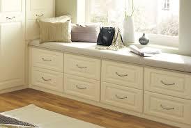 Nice Bedroom Storage Cabinets Under Window On