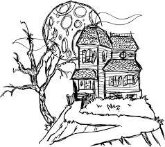 ColoringAce. Haunted House ...