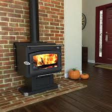 wood burning fireplace high efficiency front open zero clearance reviews stove canada