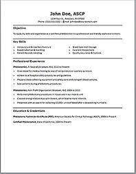 Phlebotomy Resume Examples Custom Sweet Ideas Phlebotomist Resume Examples 48 Phlebotomy Cover