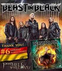 German Black Charts Beast In Black Hit The German Album Charts Nuclear Blast