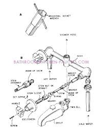 delta 3 handle tub shower faucet parts luxury delta shower replacement parts how to repair delta
