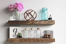 urban legacy floating shelves from genuine reclaimed wood