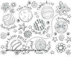 Brownie Girl Scout Coloring Pages Fashionadvisorinfo