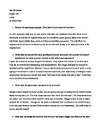 araby essay close reading essay araby johannes molly johannes araby essayquestions on quot araby quot by james joyce international baccalaureate