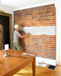 how to paint a brick wall
