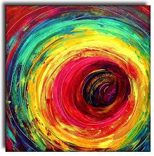 2010 colorful circle