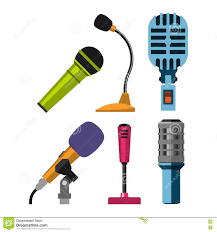 different microphones types vector icons stock vector image different microphones vector icons stock photo