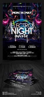 4 X 6 Flyer Template 4 By 6 Flyer Template Electro Night Party Flyer Template Events