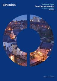 Schroder GAIA Geprüfter Jahresbericht