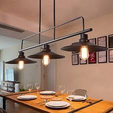 pendant lighting bar. Large Chandelier Lighting Black Pendant Light Bar Lamp Kitchen Ceiling Lights